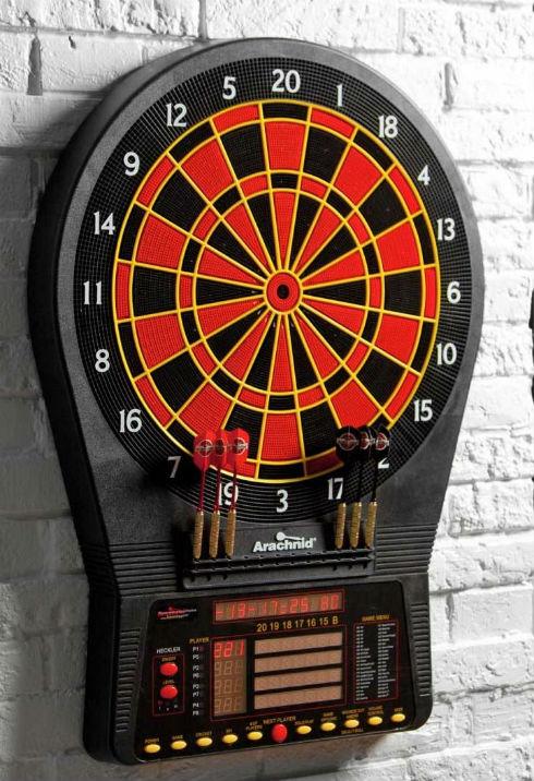 arachnid 650 electronic dart board