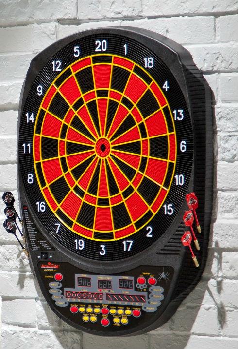 arachnid 750 electronic dart board